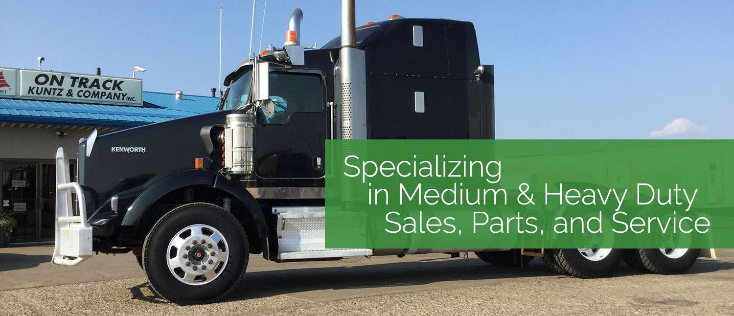 Specializing in Medium & Heavy Duty Sales, Parts, and Service