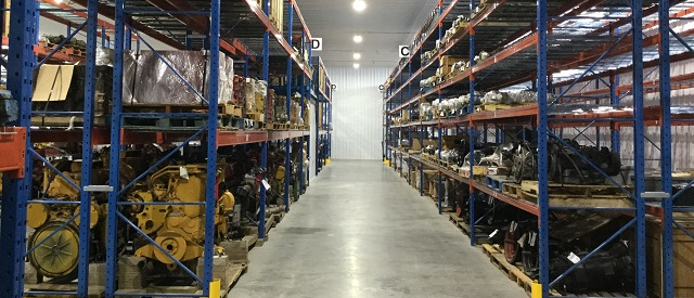 Photo of our warehouse